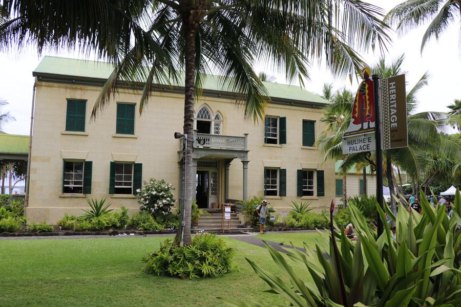 Things to do on the Big Island of Hawaii | Hulihe'e Palace in Kona