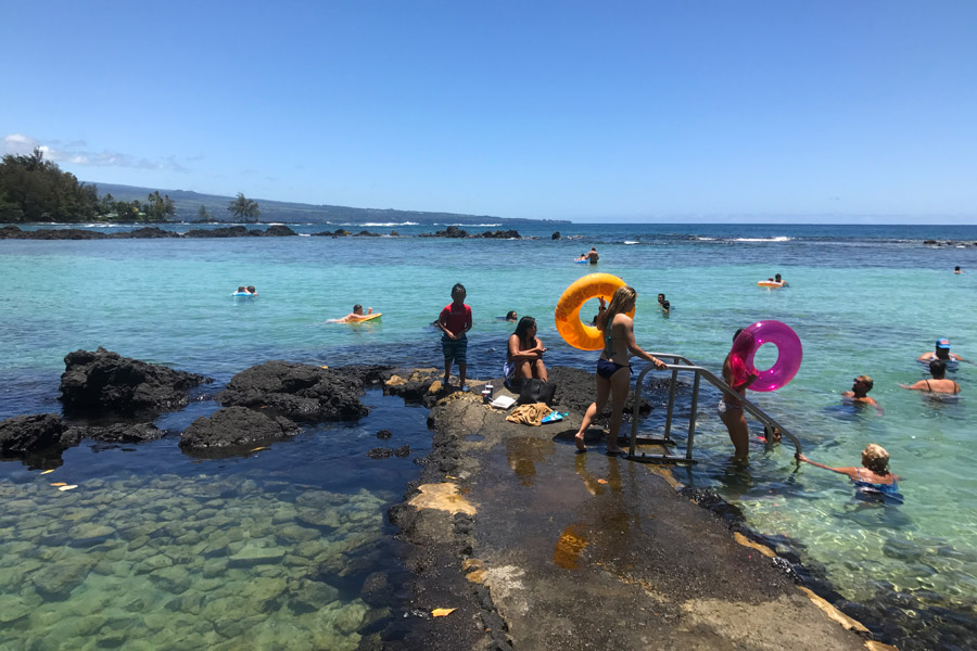 Things to do on the Big Island of Hawaii | Carlsmith Beach Park in Hilo