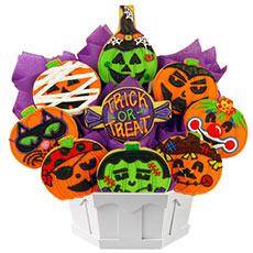 Pumpkin Cookies | Decorated Halloween Cookies