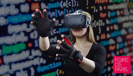 Espace de realité virtuelle - Foire de Paris 17