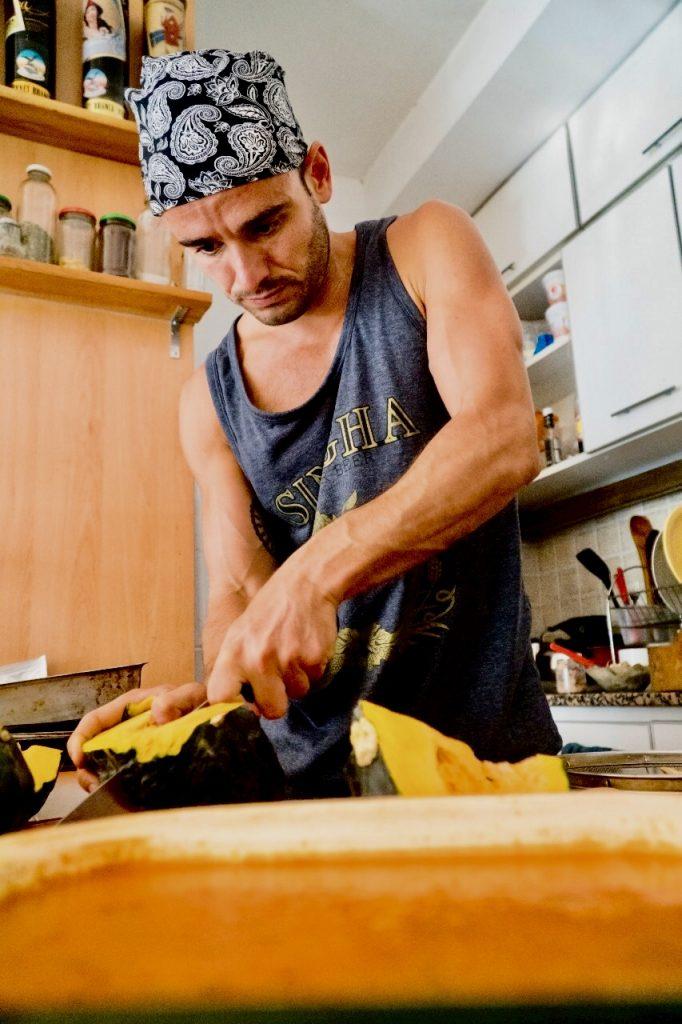 chef anfitrión mono8 fede-rico