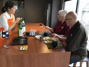 3 sake tasting
