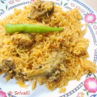 Microwave Chicken Biryani | Low Calorie Chicken Biryani | Indian Microwave Recipes | Step By Step Recipes