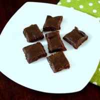 Chocolate Burfi ~ Easy Diwali Sweet