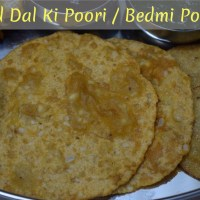 Urad Dal Ki Poori ~ A to Z Indian Pooris