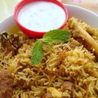 Mutton Biryani - Andhra Muslim Style ~ Pictorial