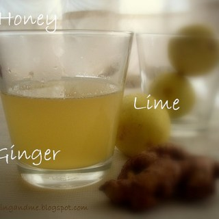 Perfect Diet Drink – Honey Lime Ginger Concoction