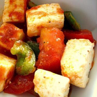 Paneer Tomato Salad – Paneer Salad Recipe