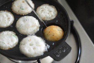 masala paniyaram recipe, kuzhi paniyaram recipe-8