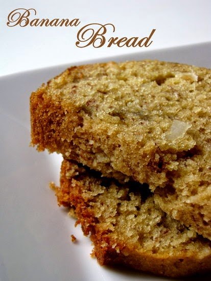 Banana Bread with Macadamia Nuts Recipe