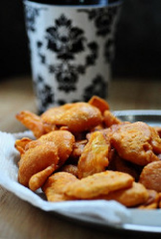 quick and easy indian snack recipes - potato bajji