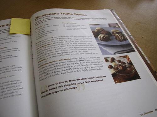 Cheesecake truffles recipe, cheesecake bites dipped in chocolate