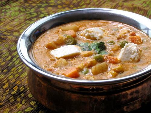 Navratan Korma / Navaratna Kurma Recipe