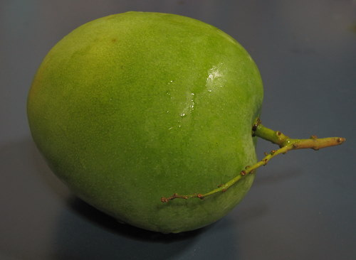 pacha manga chammanthi recipe