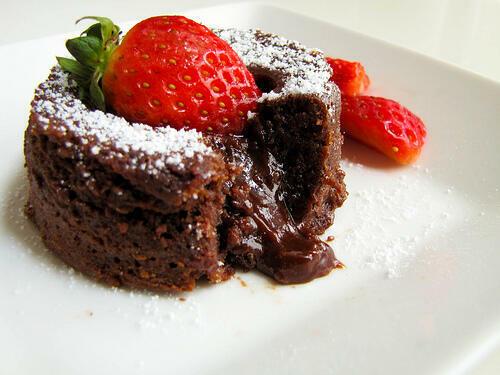Molten Lava Chocolate Cake Recipe