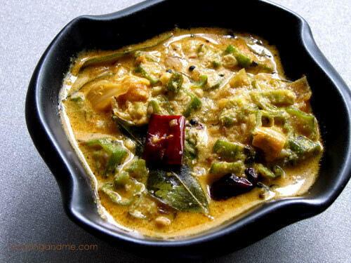 Hyderabadi Dahi Bhindi Masala - Step by Step Recipe