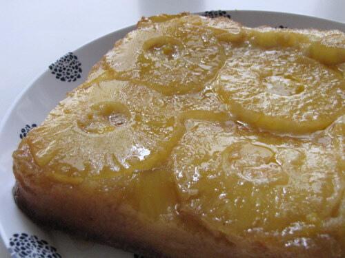 Pineapple Upside Down Cake Recipe