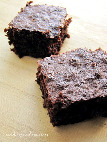 easy basic chocolate brownie recipe