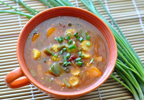 indo chinese schezwan vegetables recipe