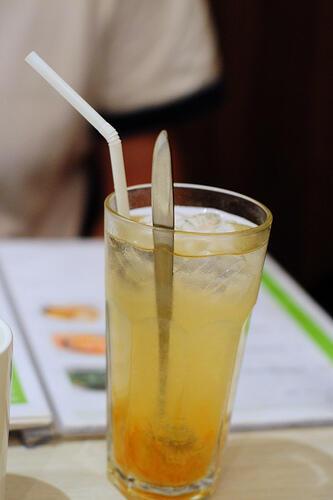 Orange Soursop Juice