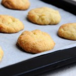Eggless almond cardamom cookie recipe