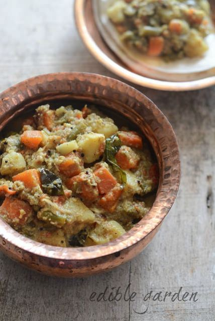 mixed vegetable kurma veg korma recipe
