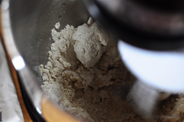how to make chapati / roti flour in a kitchenaid