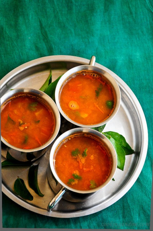 tomato juice rasam recipe, easy juice rasam recipe