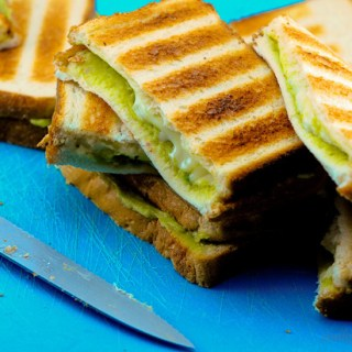 Grilled Guacamole Cheese Sandwiches Recipe