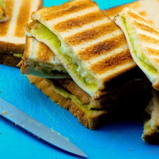Grilled Guacamole Cheese Sandwiches Recipe