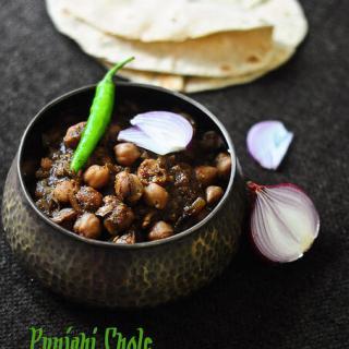 Punjabi Chole Masala (Channa / Chana / Chickpeas) Recipe