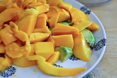 Mango and Avocado Milkshake Recipe