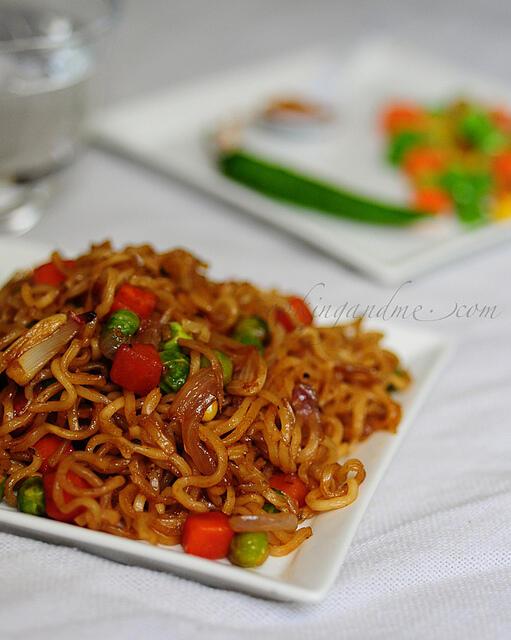 Instant Vegetable Noodles Recipe