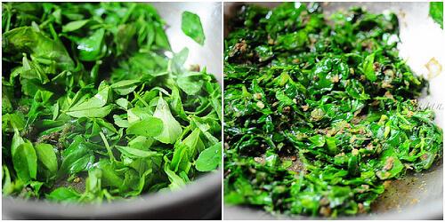 Methi Pulao-Methi Rice-Fenugreek Leaves Pilaf