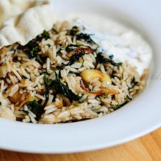 Methi Pulao Recipe – Methi Rice – Fenugreek Leaves Pulav