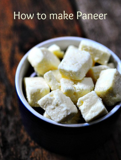 Paneer Butter Masala (Paneer Makhani) Recipe~Microwave Method