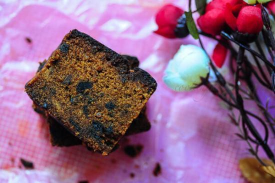 Eggless Fruit Cake Recipe, Eggless Plum Cake
