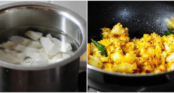 Kerala Kappa Masala-Tapioca Masala Recipe