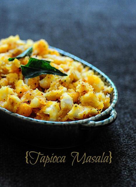Kerala kappa masala, kerala tapioca masala recipe