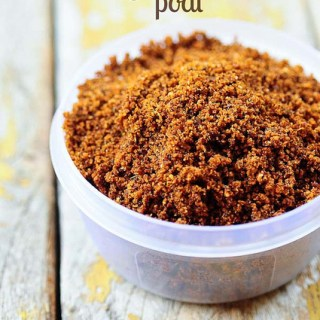 Chutney Podi Recipe – Coconut Chutney Powder Recipe for Idli, Dosa, Rice