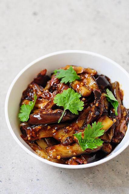 Szechuan Eggplant Recipe, Sichuan Eggplant Step by Step