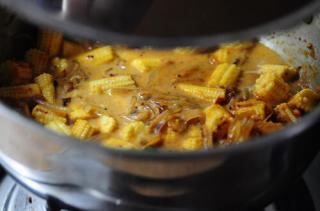 Baby Corn Masala-Baby Corn Masala Recipe