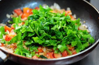 spinach rice recipe, how to make palak rice recipe