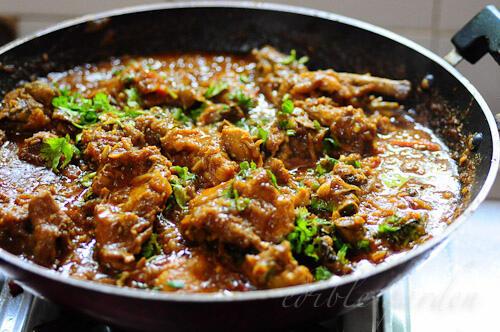 how to make layered chicken biryani