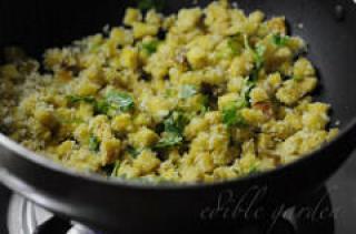 kadachakka thoran - breadfruit thoran recipe