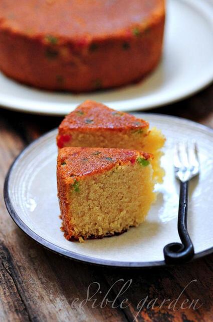 Pressure Cooker Eggless Sponge Cake Recipe Step By Step Edible Garden