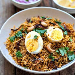 Egg Biryani Recipe – How to Make Egg Biryani Indian-Style