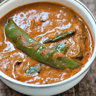 Mirchi Ka Salan Recipe – Hyderabadi Mirchi Ka Salan for Biryani