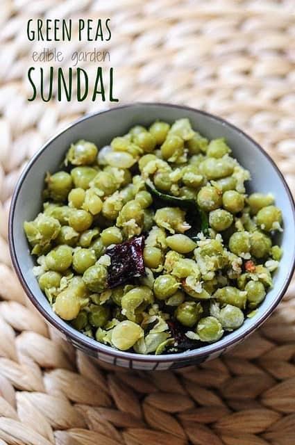 green peas sundal recipe