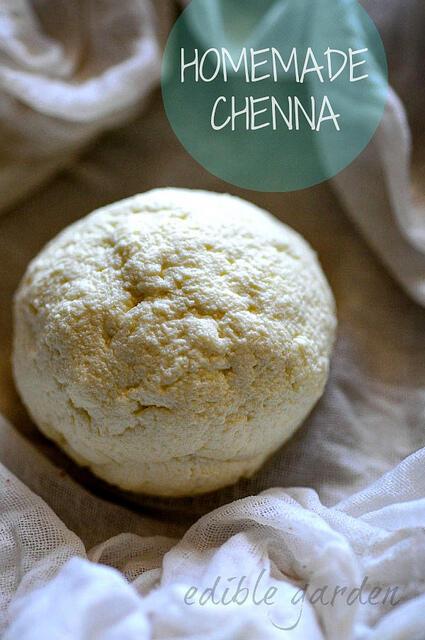 chenna recipe, how to make chenna